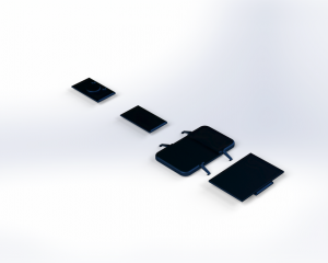 Modular iPhone Case Design, Silicone Render